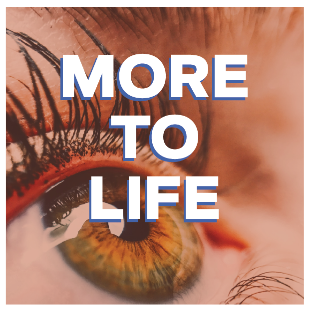 There's more to life than meets the eye